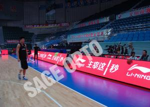 China Perimeter sports led display Indoor / Stadium Advertising outdoor led screen rental Boards on sale