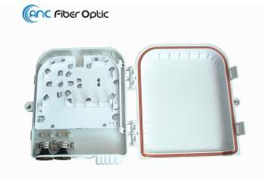 China Outdoor Wall Mount Fiber Optic Termination Boxes 8 Port for 1x4 1x8 PLC Splitter on sale