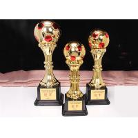 China ABS Plastic Material Award Cups Trophies For Football Competitions on sale