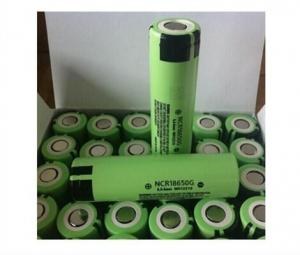 Quality NEWEST! 3.7V NCR18650G 3600mah,3600mah 18650 high capacity batteries NCR18650G 3 for sale