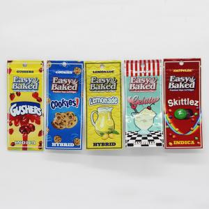 China Exotic Vape Plastic Pouches Packaging Cartridge Flavor Promotion Bag For Food Packaging on sale
