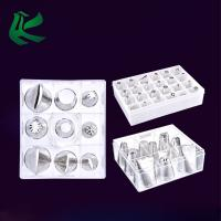 Stainless Steel Cake Decorating Tips Set, Cupcake Icing Flower Decorating Tool Cake Tips Set Bundle with Coupler Flower