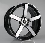 17 19 inch car wheel, 22 alloy forged machined face wheels rims for Tesla