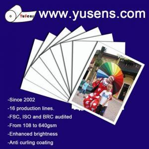 China 115gsm High Glossy Inkjet Photo Paper on sale