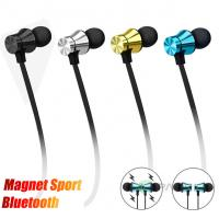 Magnetic Neckband Bluetooth Headphones Wireless Sports Earphones for Running