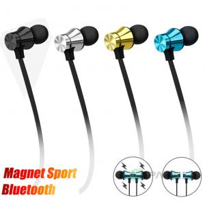 China Magnetic Neckband Bluetooth Headphones Wireless Sports Earphones for Running on sale