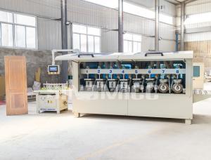 China SINOMICC wooden door shaped sanding machine  Wood door shaped sanding machine MS1300H (8 roll) on sale