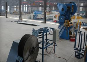 China Concertina Razor Wire Making Machine , Heavy Duty Fencing Manufacturing Machine on sale