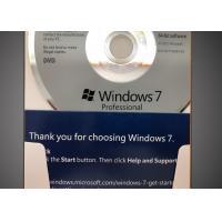 32 Bit / 64 Bit Windows 7 Professional Retail Box CD 100% Activation