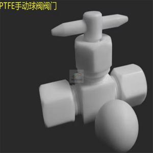 China Teflon PTFE ball valve on sale