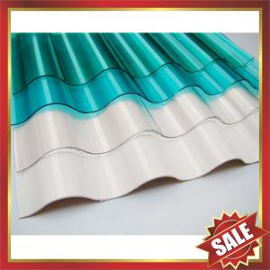 China corrugated polycarbonate sheet,polycarbonate corrugated sheet,roofing sheet,corrugated pc sheet-excellent roofing cover! on sale