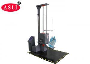 China Multi-functional Lab Test Equipment / Angle Free Fall Drop Simulation Carton Box Drop Test Machine on sale