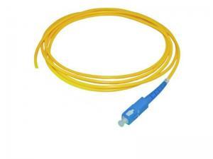 China 0.9mm 2.0 Mm Singlemode Fiber Optical Pigtail SC / UPC Connectors For FTTH on sale