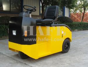 China 2t battery tow tractor for heavy-duty cargo electric tow tractor (with trailer) on sale