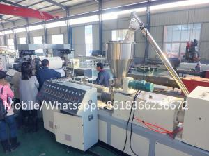 China plastic sheet extrusion line PVC edge band sheet making machine on sale