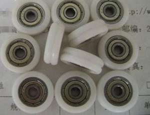 China deep color plastic roller wheel bearing 608 for plastic roller on sale
