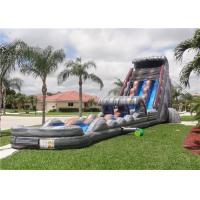 China Commercial Inflatable Water Slides , Giant Water Slides For Party Rentals on sale