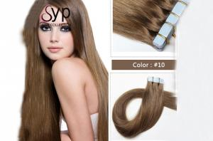 China Double Sided Virgin Tape In Hair Extensions Stick In Adhesive Amazing No Tangle on sale