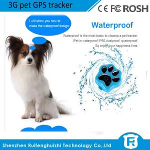 China worlds newest cheap mini 3g pet gps gsm tracker for small pet/dog/cat RF-V40 on sale