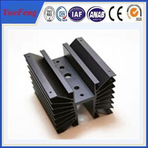China OEM cnc machined aluminum parts profile of aluminum radiator on sale