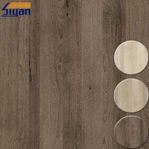 China Wood Grain PVC Decorative Foil For Indoor Furniture Laminating , Non Adhesive on sale