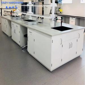 China Modern Dental Lab Workbench Laboratory Furniture Lab Desk Factory on sale