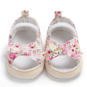 China 2019 New style infant Baby Sandals Flower soft-sole Comfortable Toddler baby shoes on sale