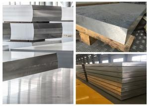 China Hard 7075 Thick Aluminum Sheet Metal, 120mm 115mm 110mm Flat Aluminum Sheet on sale