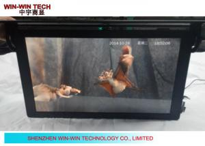 China 21.5 GPS HD Digital Signage Advertising Video Player , Bus TV Monitor on sale