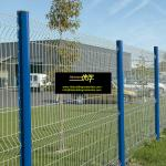 Garden fence, PVC Coating Welded Wire Mesh Fence, 5x10cm Mesh size, China Anping suppliers