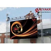 China Outdoor Waterproof P6 Rental LED Display High Refresh Rate 6000 Cd/sqm on sale