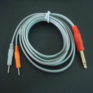 China hot!!2013 new style 6.3 mono plug medical cable,pin electrode lead wire  on sale