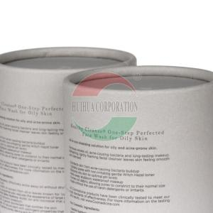 China Luxury Rolled Edge Paper Cardboard Cylinder Packaging Eco Freindly on sale