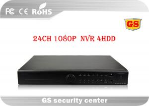 China 24 Channel NVR Network Video Recorder 1080P For Realtime Recording / Playback on sale