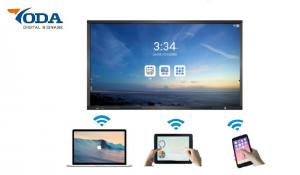 China A-Si TFT-LCD Touch Screen Lcd Panel Monitor 75'' High Brightness For Meeting Room on sale