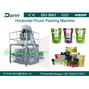 China Rice Granule Automatic Pouch Packing Machine WITH Electronic temperature control on sale