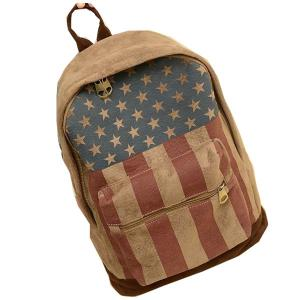 China Printed Chamois Leather Kids Sports Backpack  / Travelling Backpacks For Girls on sale