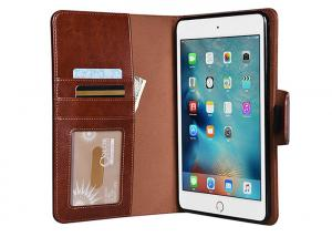 China Lightweight IPad Mini 4 Leather Tablet Sleeve / Real Leather Tablet Cases on sale