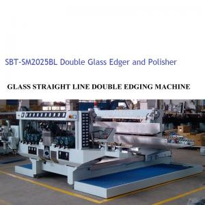 China Equipo de proceso de cristal del Edger doble de cristal/planta de tratamiento de cristal on sale