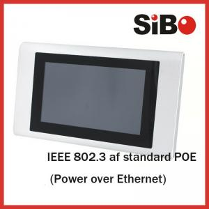 China 7 Inch On Wall Mount POE Android Tablet With Aluminum Casing For Home Automation on sale