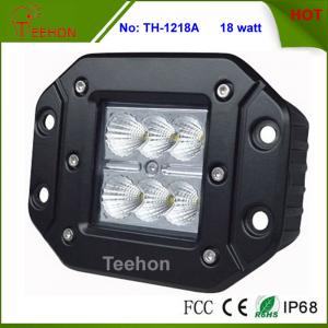China Newest 18W Flush Mount Head Lights 4X4 CREE  LED Offroad Light on sale