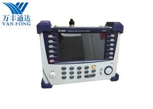 China 5MHz ~ 4GHz Portable Antenna Analyzer , VIAVI JD724C 7 Inch Screen Handheld Network Analyzer on sale