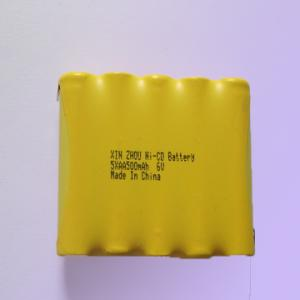 China nicd rechargeable battery pack 6V on sale