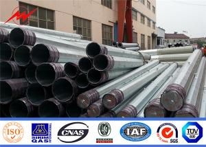 China Q345 36mm Thickness 32m Steel Tubular Electric Pole on sale