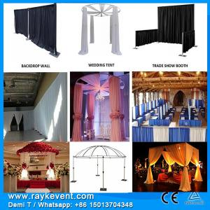 China Hot-sale   pop up displays/ trade show pipe and drape/ trade show booth design on sale
