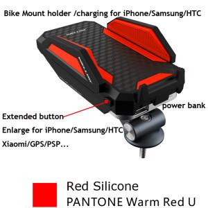 China Multiple Mobile Phone Holder for Bike with External Portable Power Bank on sale