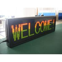 F3.75 Electronic Red Green Blue Yellow White Scrolling LED Sign High Brightness ,Modular LED Display