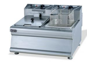 China Heavy Duty  Portable Commercial Deep Fryer With Power / Heat Indicator Lights on sale