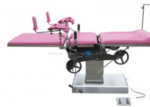 China Manual Hydraulic Operation Theatre Bed , Gynecological Surgical Operation Table on sale