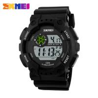 4f484442220 China Waterproof Mens Digital Watches Night Light Big Digit ABS Plastic on  sale .